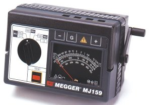 megger-210170-hand-cranked-analog-major-megger-insulation-tester